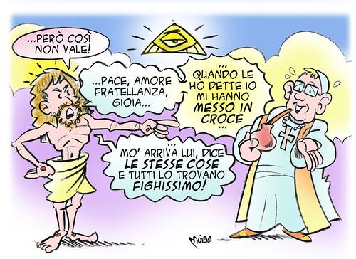 PapaGesù by Moise-Creativo Galattico