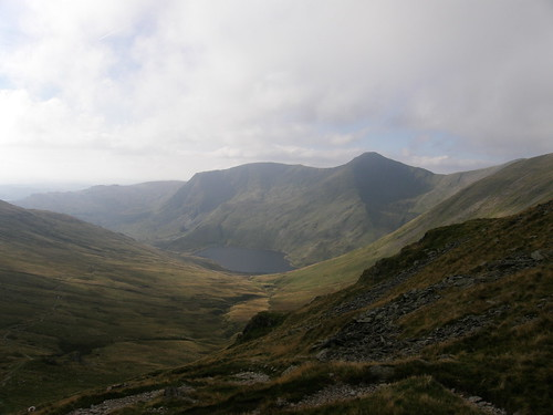 Kentmere Reservoir from Nan Bield