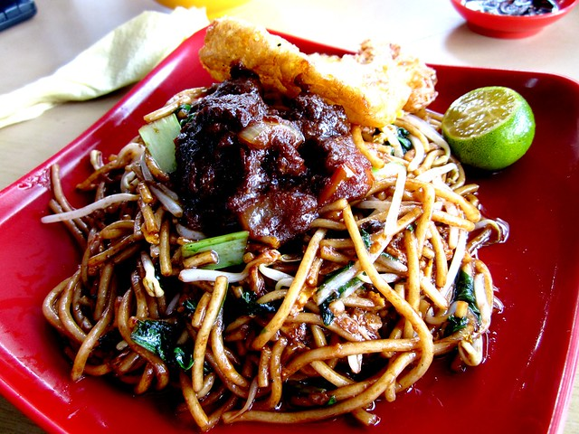 Fast Cafe fried noodles