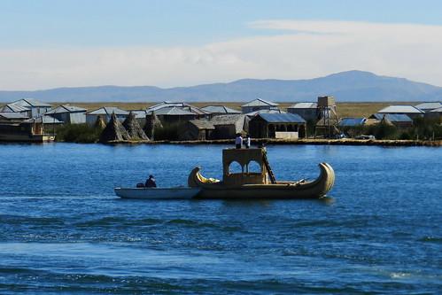 Lago Titicaca Islas de los Uros Peru  06