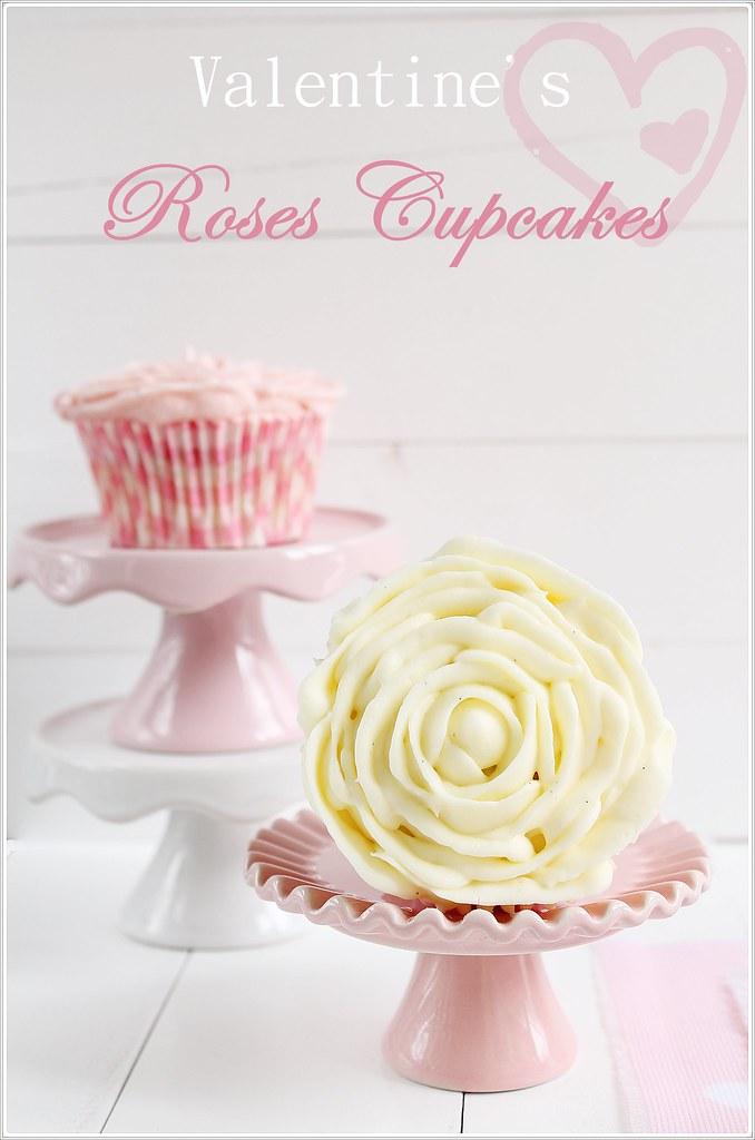 roses cupcakes, cupcakes rosas, the art of cupcake, rosas de frosting