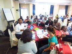 The Mali team planning 2014 activities (Photo credit: ILRI/Ewen Le Borgne)