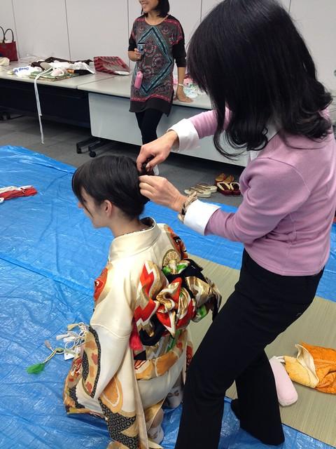 Kimono experience class