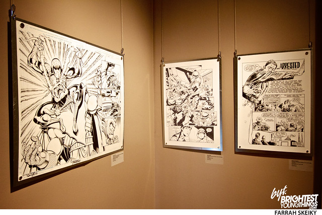 The Art of Comic Books Mansion at Strathmore Brightest Young Things Farrah Skeiky 60
