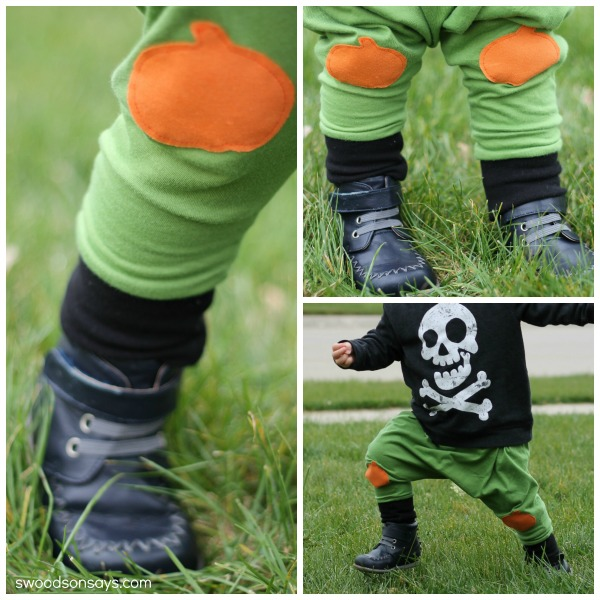DIY Pumpkin Pants