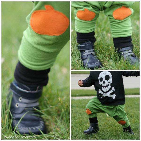 DIY Pumpkin Pants