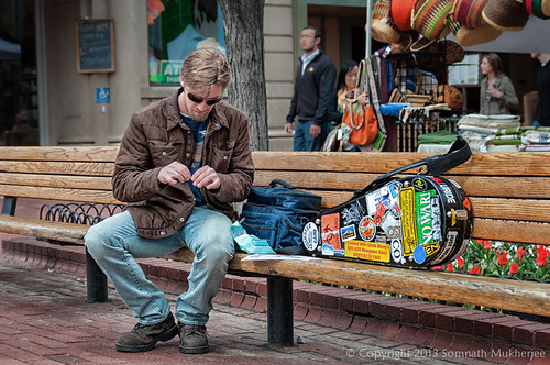 Natural American Spirit | Pearl Street Mall, Boulder, CO | May, 2013 by Somnath Mukherjee Photoghaphy