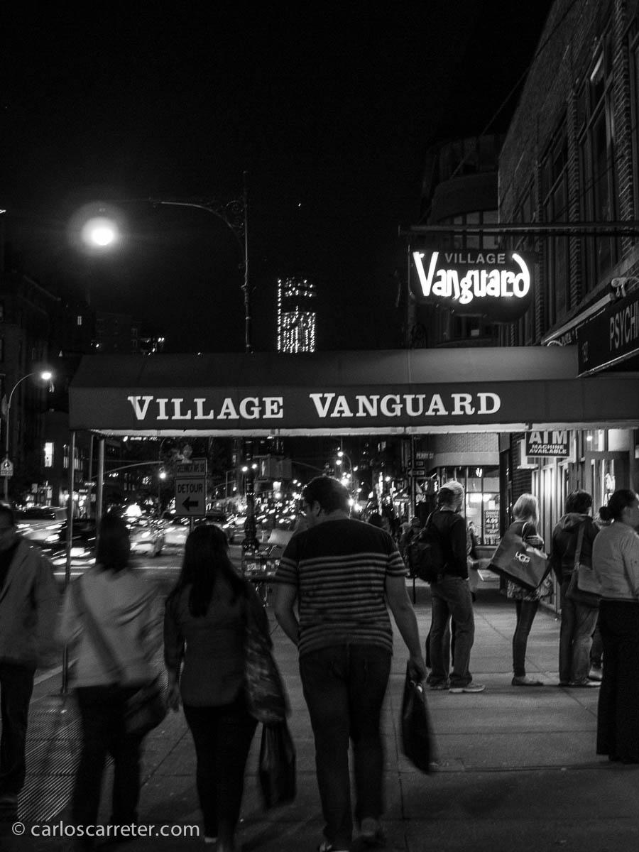 Noche de concierto en el Village Vanguard