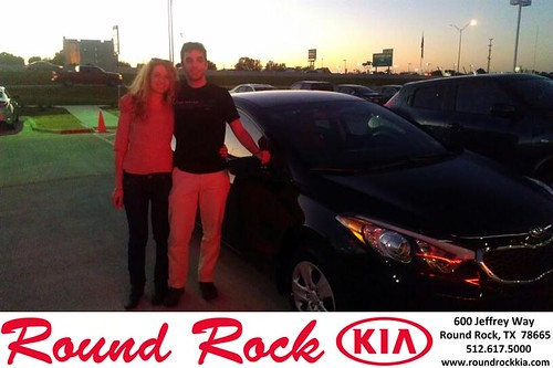 Thank you to Shlomit  Peled on your new 2014 #Kia #Forte from Fernando Fernandez and everyone at Round Rock Kia! #NewCar by RoundRockKia