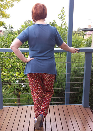 StyleARC Lola pants with Crafty Mamas Lovely Layers top