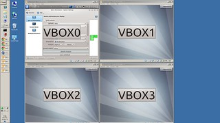 virtualbox multiscreen
