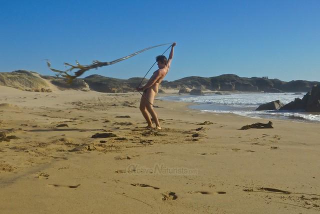 naturist 0002 Ano Nuevo Beach, CA USA
