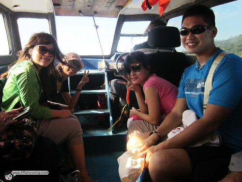 inside speedboat