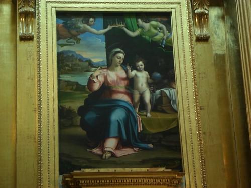 Holy Family, Sebastiano del Piombo, Santa Maria Burgos