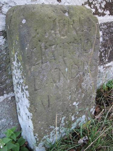 Chop Gate stone
