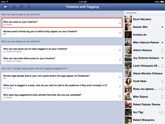How to Block Friends from Posting on your Facebook Wall - iOS 3