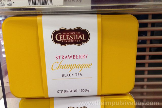 Celestial Seasonings Strawberry Champagne Black Tea