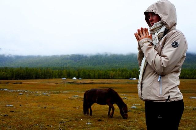 Horse trek in Mongolia IKILOMALLA matkablogi travel blog (13)