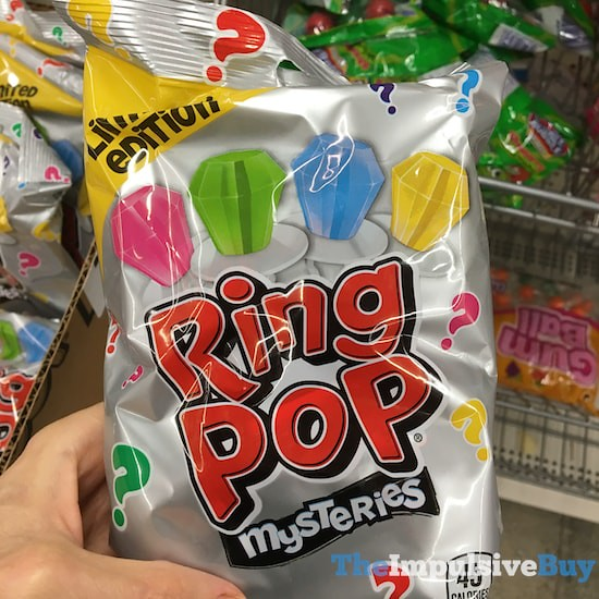 Limited Edition Ring Pop Mysteries
