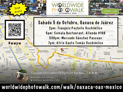 Free October 5 WorldWide Photo Walk Oaxaca #wwpw #rtyear2013
