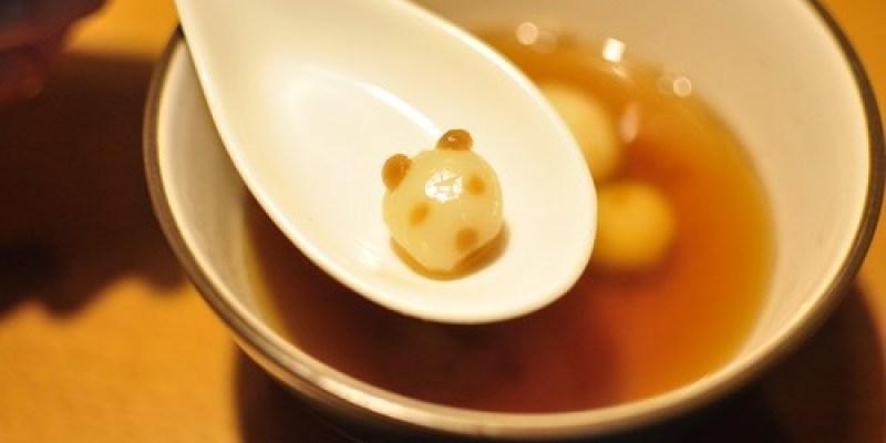 元宵前夕吃湯圓:用黑糖捏出熊貓小湯圓(9.6ys)