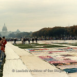 AIDS Quilt at National Mall