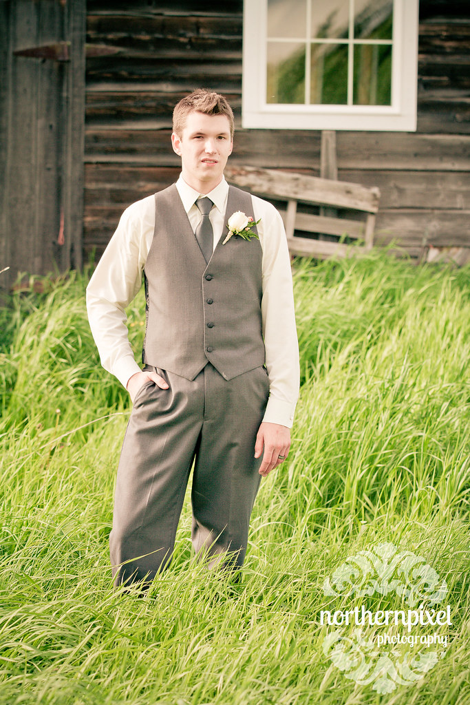 The Groom - Prince George BC Wedding