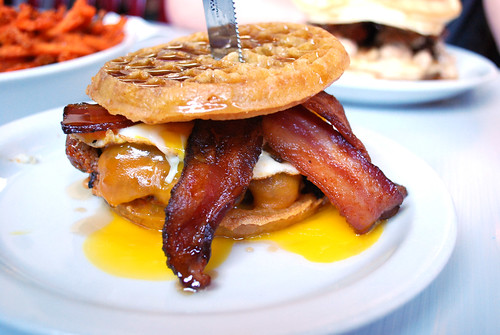 Slater's Breakfast sandwich