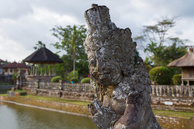 Guardian Statue, Taman Ayun Temple