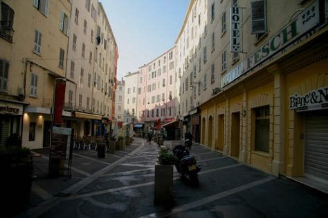 Ajaccio street