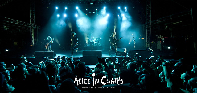 Alice in Chains - Singapore Rock Fest 201