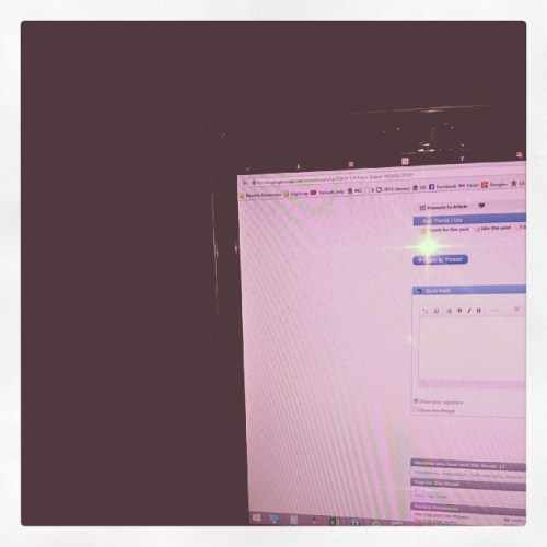 #working on the #gingerscraps #newsletter in bed #dayinthelife