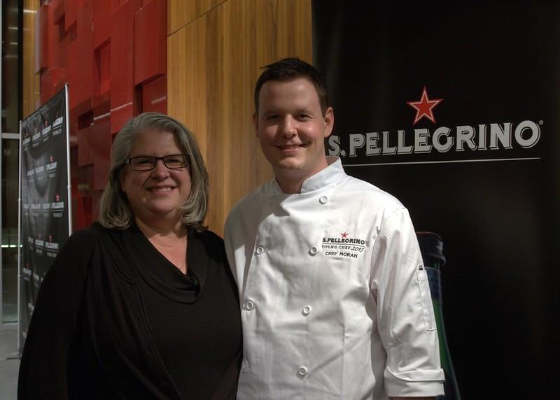 Alexa Clark With #SPYoungChef Winner - Chef Paul Moran
