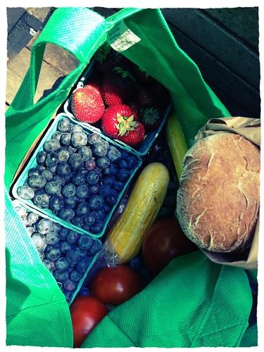 This Weeks PSU Farmers Market Haul!