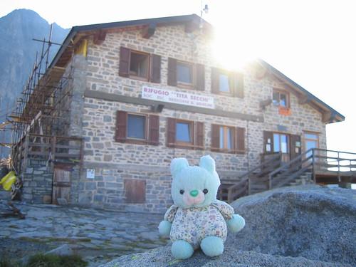 Choppy al rifugio Tita Secchi