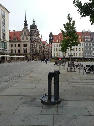 A Public Drinking Fountaing in Dresden