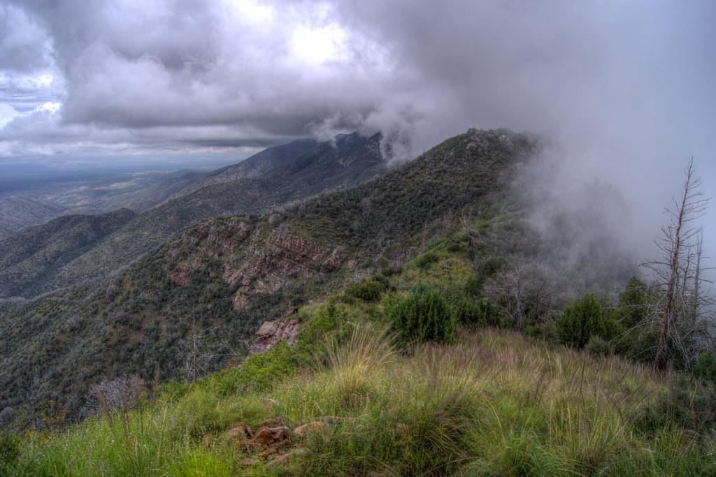 1309 Clouds along Oracle Ridge