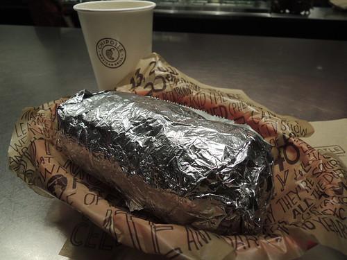 Chipotle Sofritas Burrito