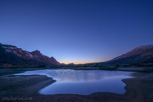 Transient Lake @ Canadas del Teide - Nikon D800E