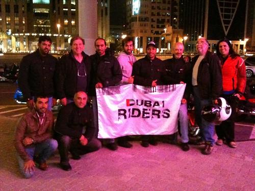 I saluti a Dubai