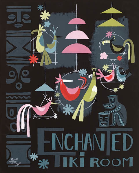 Enchanted Tiki Room by El Gato Gomez