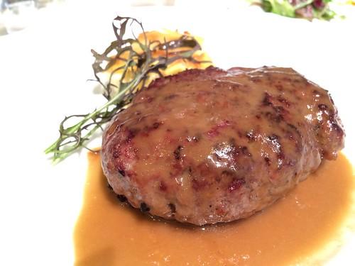 熟成牛のハンバーグステーキ@カルネヤサノマンズ