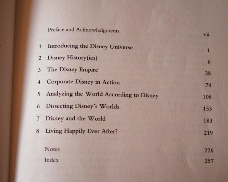 Understanding Disney contents
