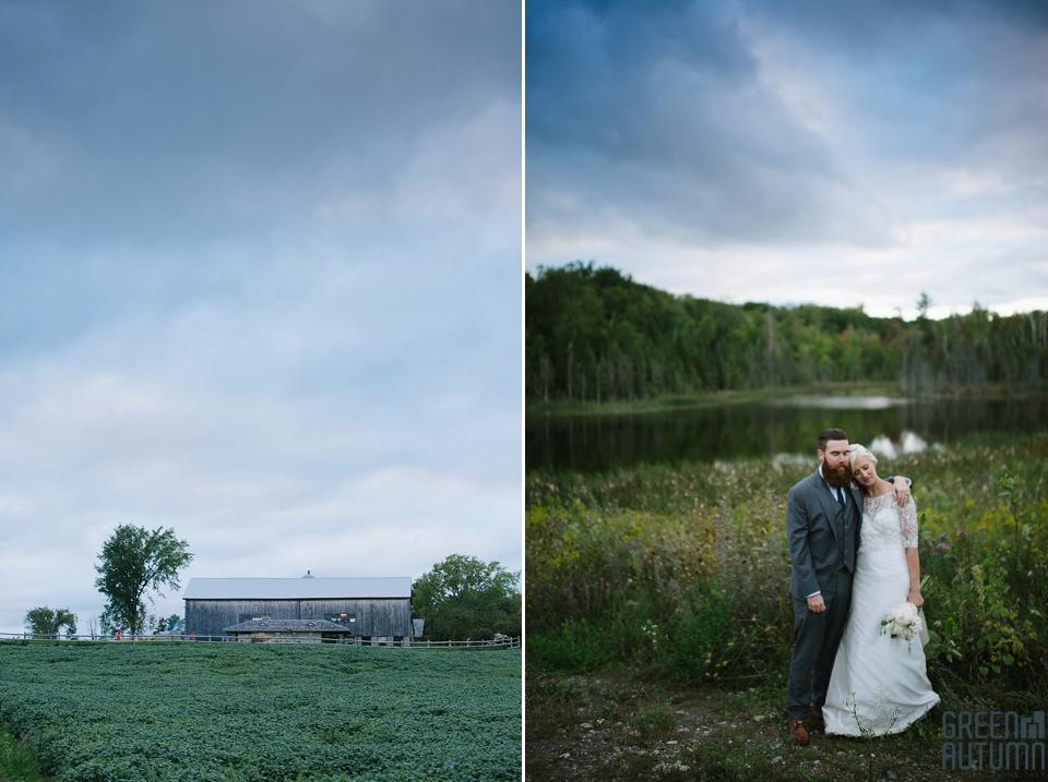 Autumn South Pond Farms Wedding Photography 0062