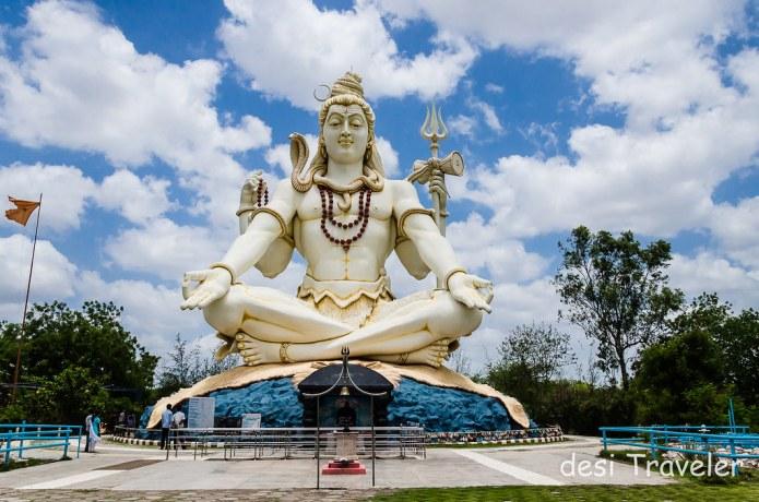 85 feet tall Shiva Idol Bijapur Karnataka