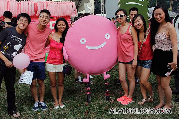 Happy folks at Pink Dot 2013