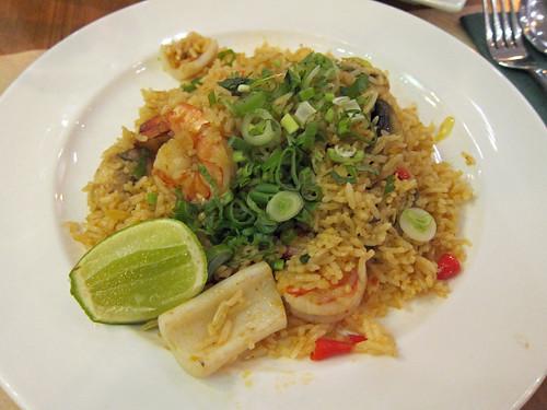 Tom Yum Seafood Fried Rice