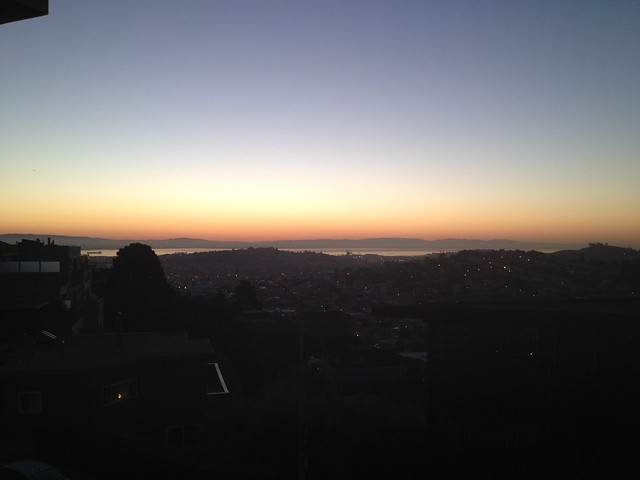 San Francisco Bay at dawn