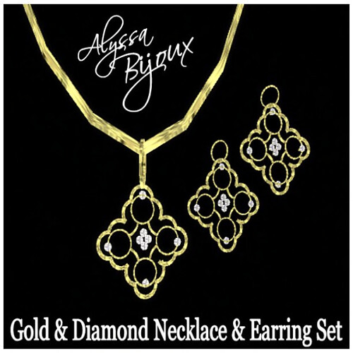 Alyssa Bijoux - Byzantine Necklace & Earring Set