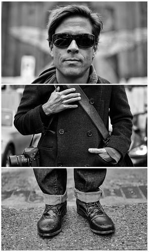 Triptych Portrait series #54 - Daniel Milnor by bang*